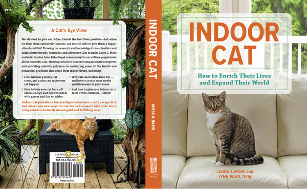 book cover for Indoor Cat: How to Enrich Their Lives and Expand Their World
