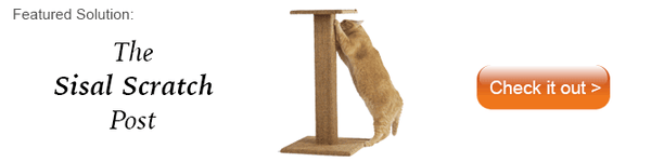 Dezi & Roo sisal scratch post for cats
