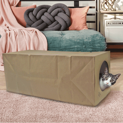 Hide and Sneak Unique Cat Toy Tunnel - The Original - Dezi & Roo
