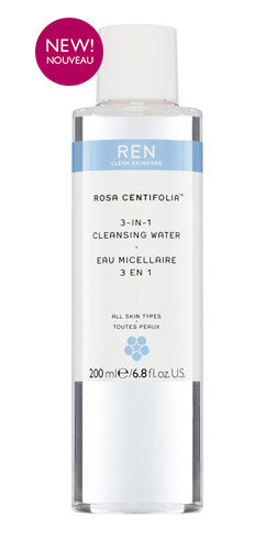 REN Rosa Centifolia 3-In-1 Cleansing Water