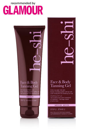 He-Shi Face & Body Tanning Gel