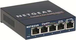 Network switch with POE 5-port
