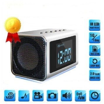 SPY CLOCK RADIO w/Motion detection