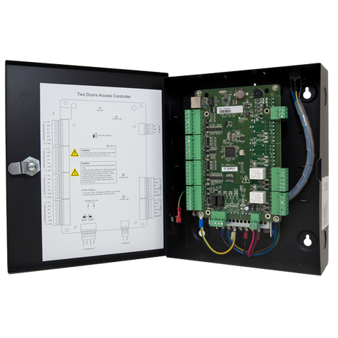 H-Series Two Door Access Control System holds 10K Cards and 50K transactions