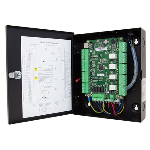H-Series Four Door Access Control System holds 10K Cards and 50K transactions