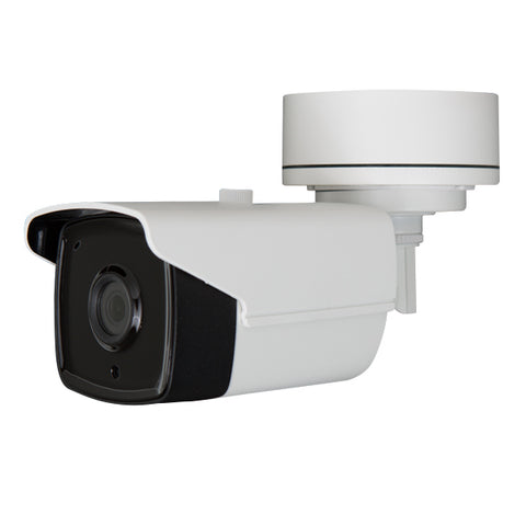 5MP HD TVI STARLIGHT EXIR Armored Bullet Camera, 2.8mm lens, White