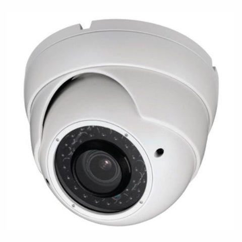 HD-CVI Armored Vari-Focal Dome Camera 720p in White