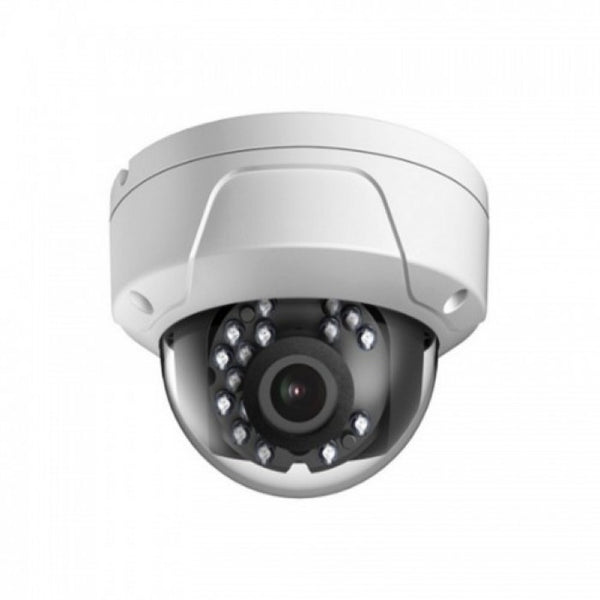 2MP HD TVI Vandal Proof EXIR WDR Glass Dome Camera, 3.6mm lens, White