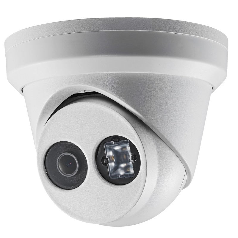 5MP H.265+ TWDR EXIR Turret Network Camera- 2.8mm Fixed Lens.