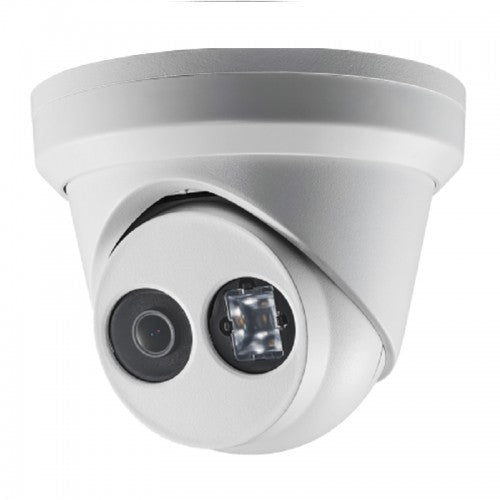 8MP UHD IP Turret Dome Camera 2.8mm wide FOV