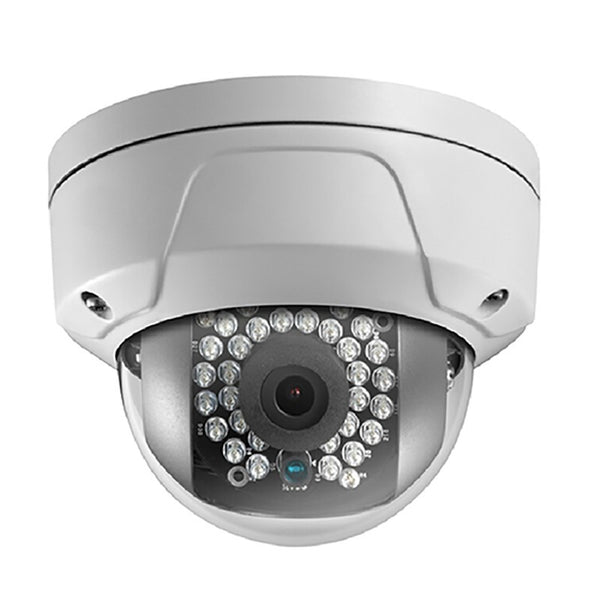 4MP True WDR Fixed IR Glass Dome Network Camera