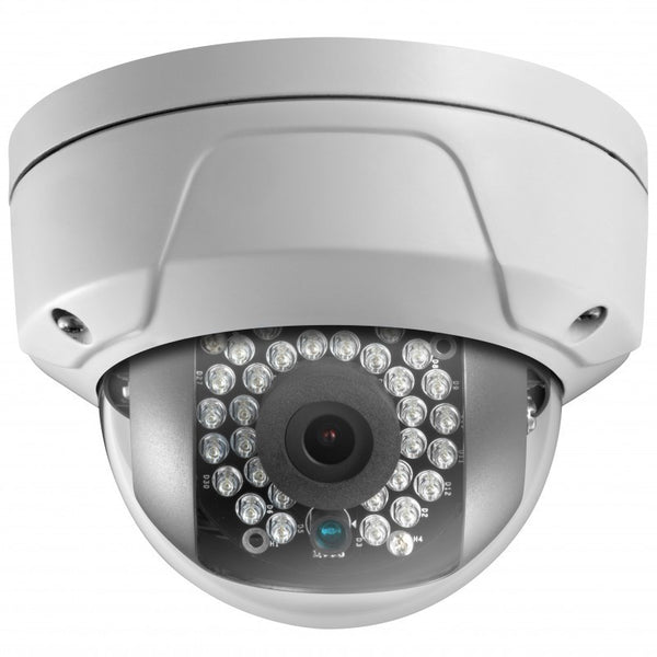 4MP True WDR Glass Dome Network Camera With Audio/Alarm IO