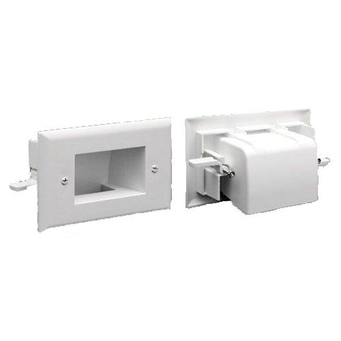 Deep Wall Plate Scoop for Siamese Cable