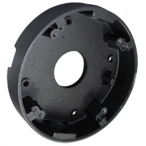 "Camera Mount J-Box for Armored Dome Cameras 4.75"" BLACK"