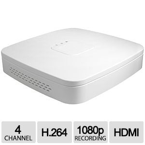 4CH IP NVR D-Series Clearview 1U White, 1HDD, H.264/MJPEG, ONVIF Ver 2.0