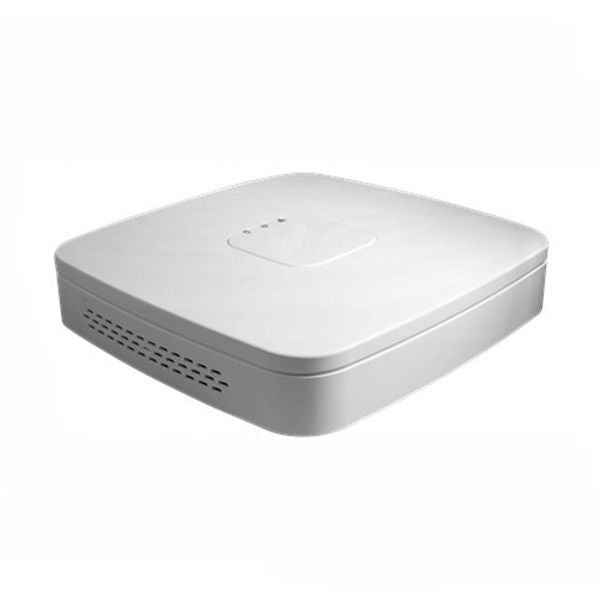 8CH IP NVR D-Series 80Mbps, 1U, 2HDD, 4 Port PoE, ONVIF 2.4