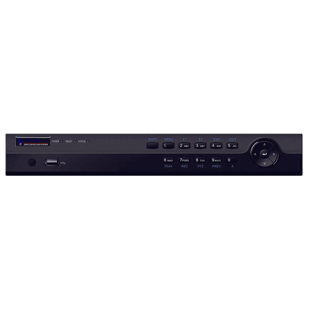 16CH IP NVR Advanced H-Series 160Mbps, 1U, 2HDD