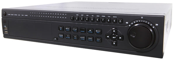32CH IP NVR Professional H-Series 320Mbps, 2U, 8HDD