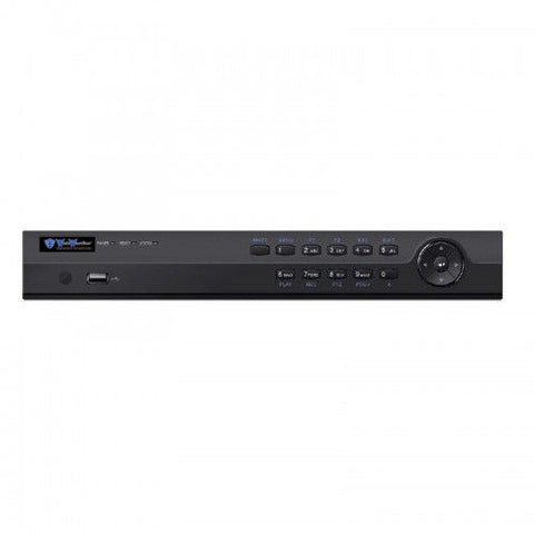 8CH IP NVR Advanced H-Series 80Mbps, 1U, 2HDD