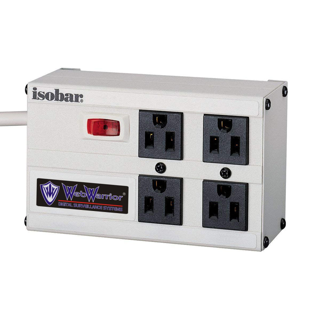 Heavy duty surge protection 4 outlet