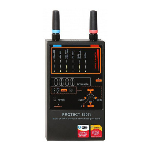 Professional Bug detector for multi-frequencies and GSM