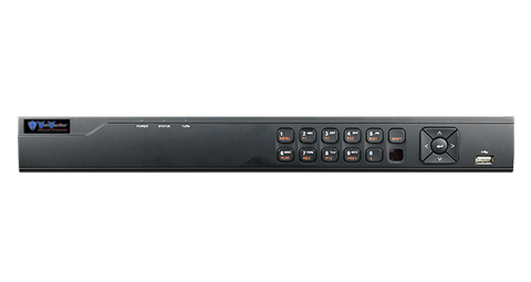8CH+2IP TVI DVR Advanced H-Series 1080p 1U 1HDD TVR Tribrid H.264 Enterprise