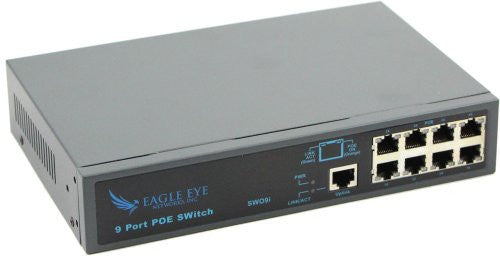 Network Switch with POE 8-Port