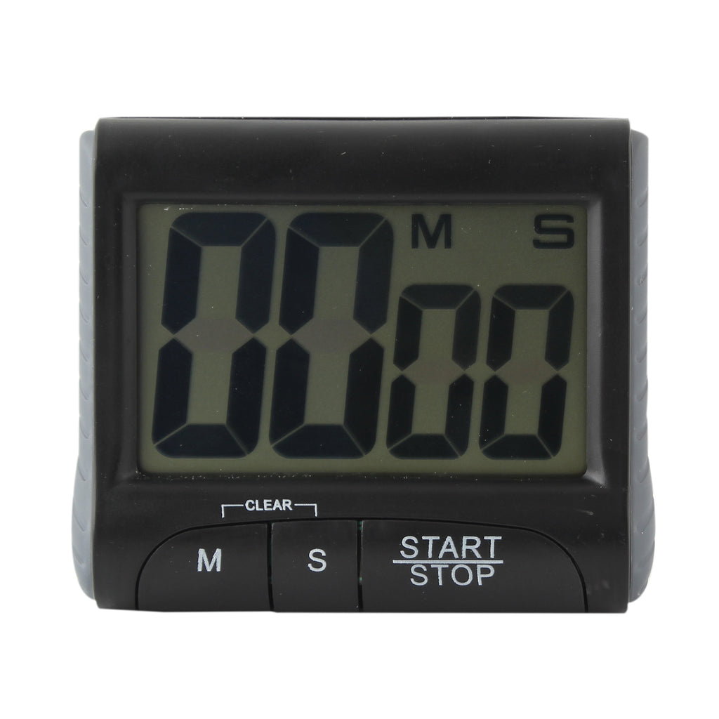 Large LCD Digital Magnetic Kitchen Alarm Timer Count Up and Down