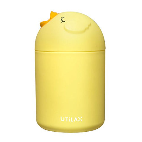USB Bird Car Humidifier -Cutest Essential Oil Diffuser with USB Port - Enjoy Aromatherapy Anywhere (Yellow)