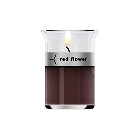 Red Flower Moroccan Rose Little Flower Candle-1.5 oz.