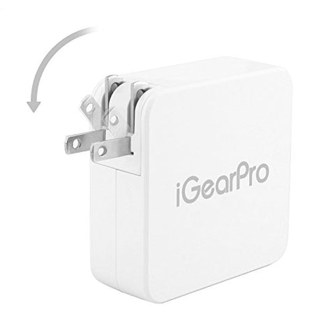 Macbook Pro Charger, iGearPro Replacement Macbook Pro Charger, 60W (Before Mid 2012 Models)