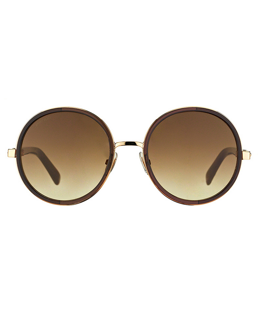 Jimmy Choo, Jimmy Choo Round Metal Sunglasses, , Hot Sale Product - Leez Department Store