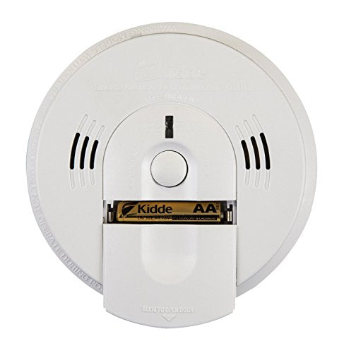 Battery Powered Night Hawk Combination Smoke/CO Alarm with Voice/Alarm Warning