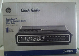 GE 7-4612BK AM/FM Electronic Digital Alarm-Clock Radio