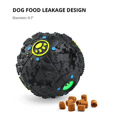 Dog toys ball IQ treat ball Dog food dispenser by FurryFido, for small/middles size(under 30lbs) dogs teeth cleaning, playing and chewing