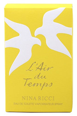 L'Air Du Temps By Nina Ricci For Women. Eau De Toilette Spray 3.4 Oz.