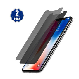 iPhone Xs Max Screen Protector Privacy , 6.5 inches 2018, Anti-Spy Tempered Glass Film, 2-Pack