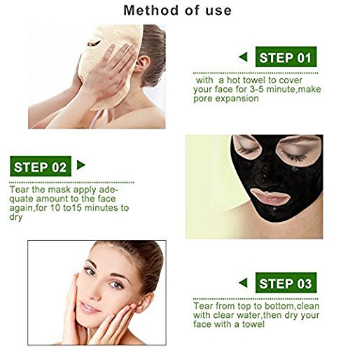 Blackhead Remover Black Mask- (2 Pack )Purifying Peel-off Mask Deep Cleansing