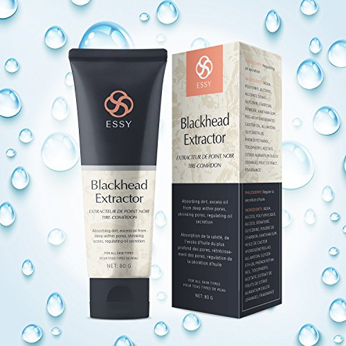 Black Peel off Mask,Charcoal Balckhead Remover Mask,Deep Cleasing Facial Mask