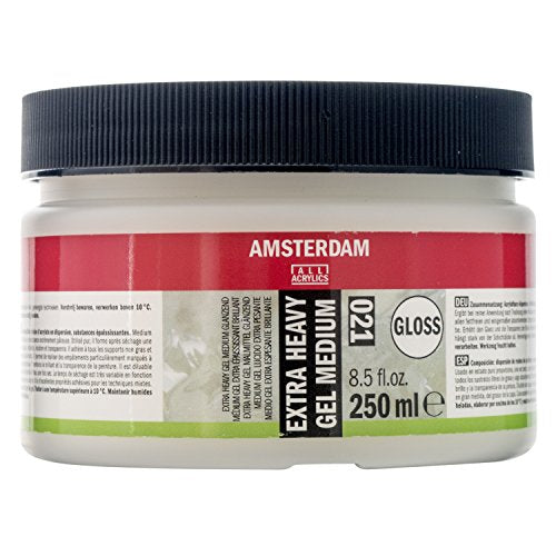 Amsterdam Gel Medium Extra Heavy - Gloss - 250ml