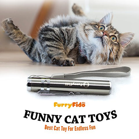 Best Cat Toy For Endless Fun: Interactive LED Light to Entertain Your Pets