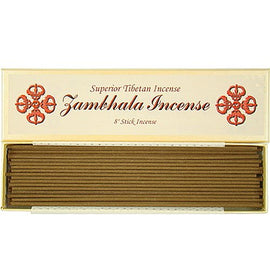 Zambhala Incense - 8  Stick Incense - 100% Natural - A006T