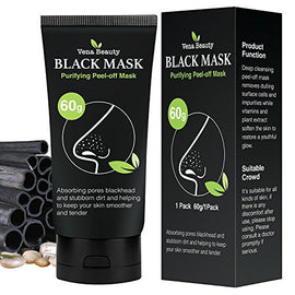 Blackhead Remover Black Mask- Purifying Peel-off Mask Deep Cleansing 60g by Vena Beauty