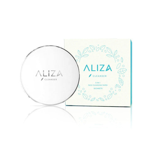 Aliza 3-in-1 Face Cleansing Paper  (50 Sheets)