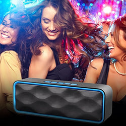 iGearPro Outdoor Portable Stereo Bluetooth Wireless Speakers with Bluetooth 4.2