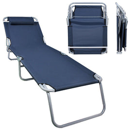 Flexzion Folding Lounge Chair