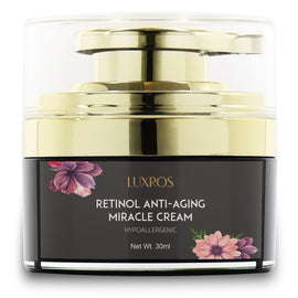 Retinol Moisturizer Cream for Face and Eye Area, Night and Day Moisturizing Cream