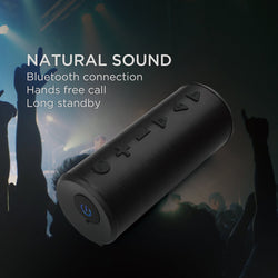 IGearPro Wireless Bluetooth Speaker by Ubittek, Portable Outdoor Stereo Speaker with 20W Powerful Bass Sound, Over 12 Hours Playtime and Hands-Free Call for iPhone, Computer, Desktop, TV, Car