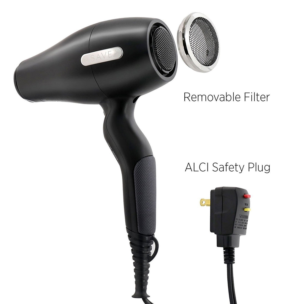 Hair Dryer Pro AC Motor Ionic, Light Weight Small Size But Powerful