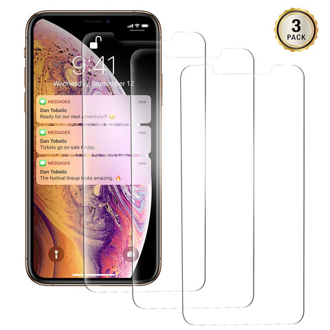 Blitzby Privacy Screen Protector for Apple iPhone Xs Max, 6.5 inches, Anti-Spy Tempered Glass Film, 2-Pack